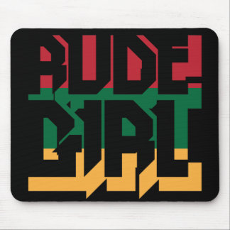 Rude Girl Mouse Pad