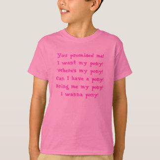 Rude Girl - Pony T-Shirt