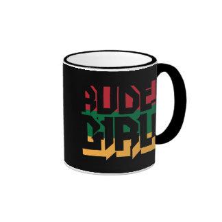 Rude Girl Ringer Mug