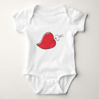 Rude Heart Baby Bodysuit