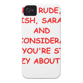 rude iPhone 4 Case-Mate case