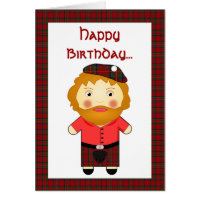 Scottish humor cards greeting photo cards zazzle rude joke scotsman birthday greetings card m4hsunfo