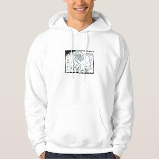 Rude monkey hoodie