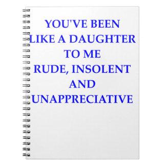 rude notebook