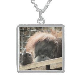 Rude Orangutan Necklace