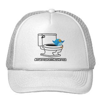 Rude twitter trucker hat