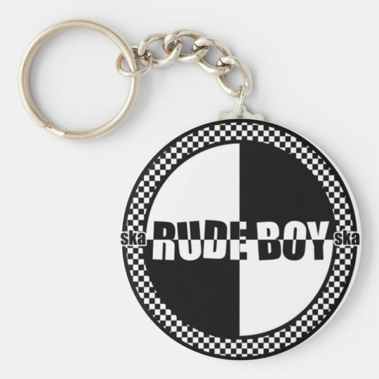 Rudeboy keychain
