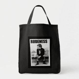 Rudeness Tote Bag