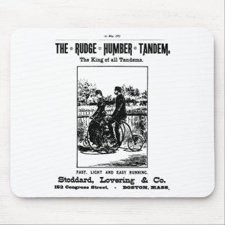 Rudge Humber Tandem Bike Mouse Pad