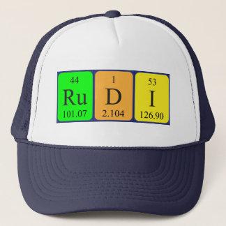 Rudi periodic table name hat