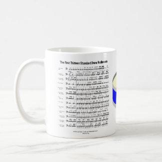 rudiments classic white coffee mug