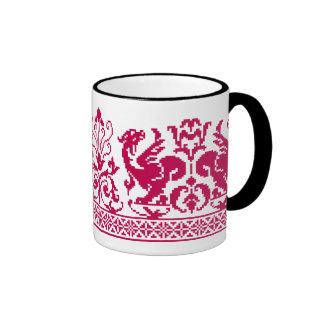 Rudiy Drakoni ~ Red Dragons Mug