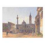 Rudolf Alt la basílica de Santa María Maggiore Tarjetas Postales