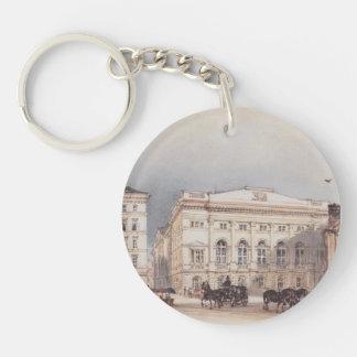 Rudolf Alt- Lower Austrian country house Acrylic Key Chain