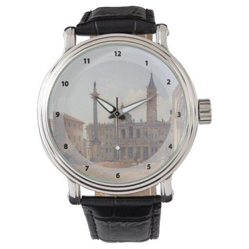 Rudolf Alt- The Basilica of Santa Maria Maggiore Watches