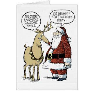 Rudolf Bullied Greeting Card