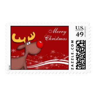 Rudolf Christmas Stamp