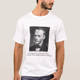 Rudolf Clausius and the Laws of the Universe T-Shirt