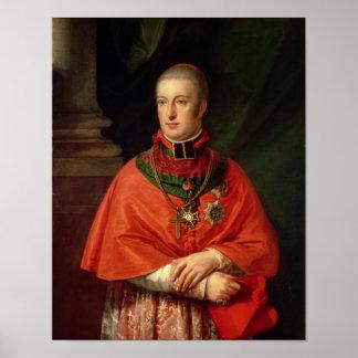 Rudolf de Habsburgo Poster