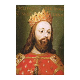 Rudolf I  uncrowned Holy Roman Emperor Canvas Print