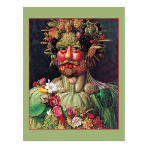 Rudolf II by Giuseppe Arcimboldo Postcard