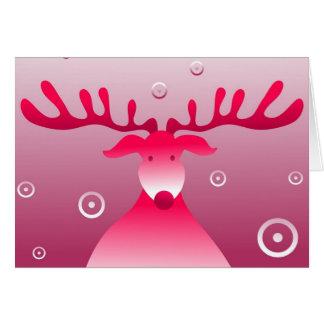 Rudolf retro tarjetón