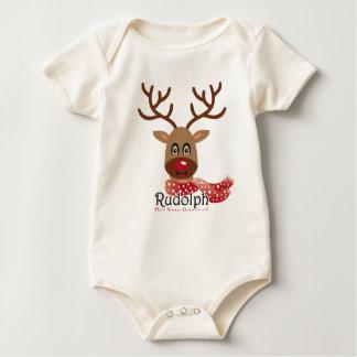 Rudolf the Red Nose Reindeer Baby Bodysuit