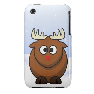 Rudolf the Red Nose Reindeer Christmas Cartoon Case-Mate iPhone 3 Case