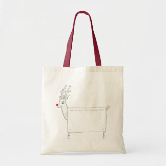 Rudolf the Red Nosed Radiator Tote Bag
