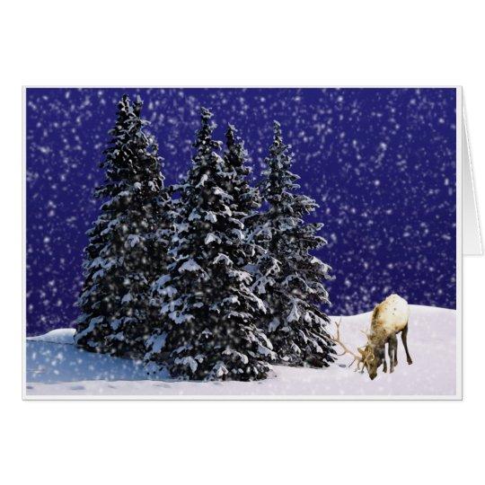 Rudolf the Reindeer Card