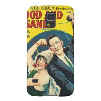 Rudolf Valentino Blood Sand Poster Galaxy S5 Cases