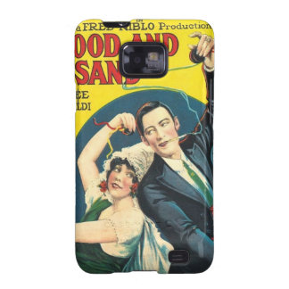 Rudolf Valentino Blood Sand Poster Galaxy S2 Cover