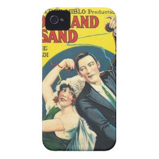 Rudolf Valentino Blood Sand Poster iPhone 4 Cases