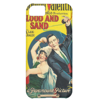 Rudolf Valentino Blood Sand Poster iPhone 5C Cases