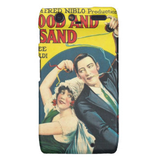 Rudolf Valentino Blood Sand Poster Motorola Droid RAZR Covers