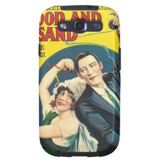 Rudolf Valentino Blood Sand Poster Samsung Galaxy S3 Case