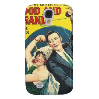 Rudolf Valentino Blood Sand Poster Galaxy S4 Case