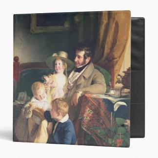 Rudolf von Arthaber with his Children Rudolf Vinyl Binder