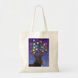 Rudolf with Lights Bag