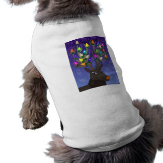 Rudolf with Lights Pet Clothing