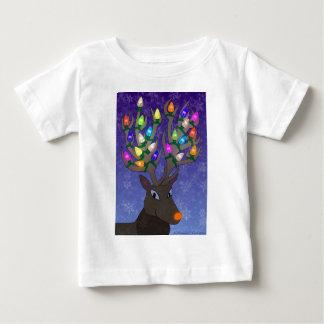 Rudolf with Lights Shirt