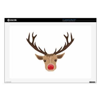"""Rudolph 17"""" Laptop Skin"""