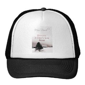 rudolph book cover trucker hat