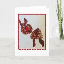 Rudolph - card