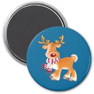 rudolph cartoon magnet