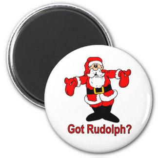 ¿Rudolph conseguido? Imanes