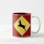 Rudolph Crossing Mug