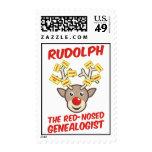 Rudolph el Genealogist con la nariz roja