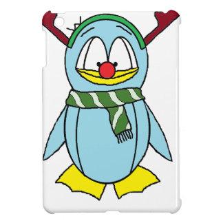 Rudolph el pingüino sospechado rojo iPad mini fundas