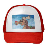 Rudolph el reno de Rednose Gorra